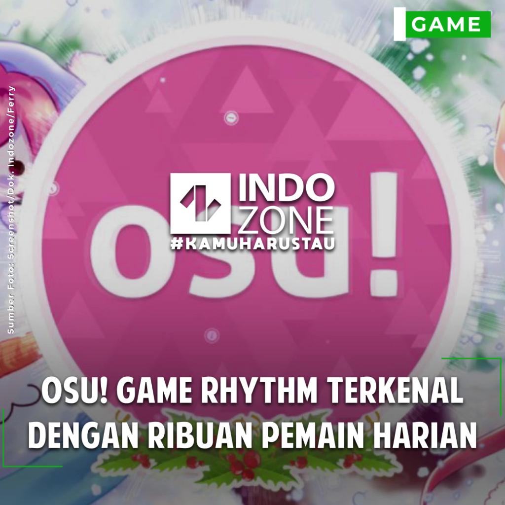 Osu! Game Rhythm Terkenal dengan Ribuan Pemain Harian