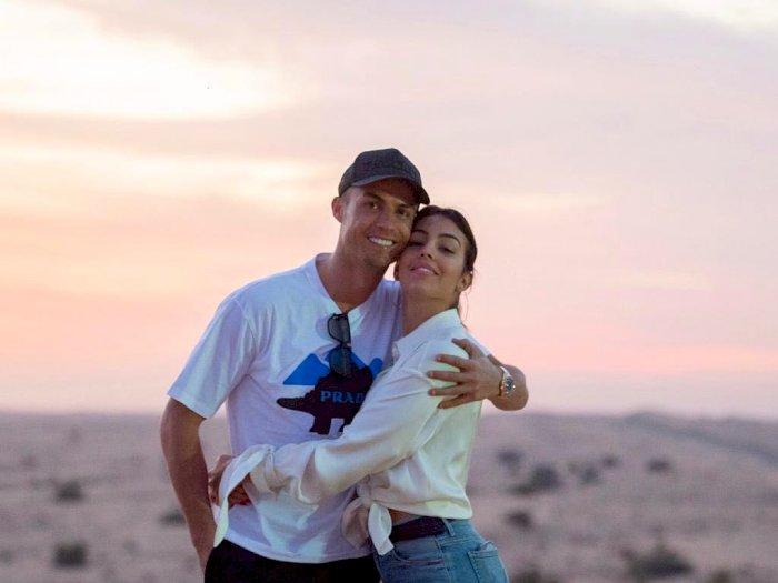 Kalimat Romantis Ronaldo untuk Georgina Jelang Akhir Tahun