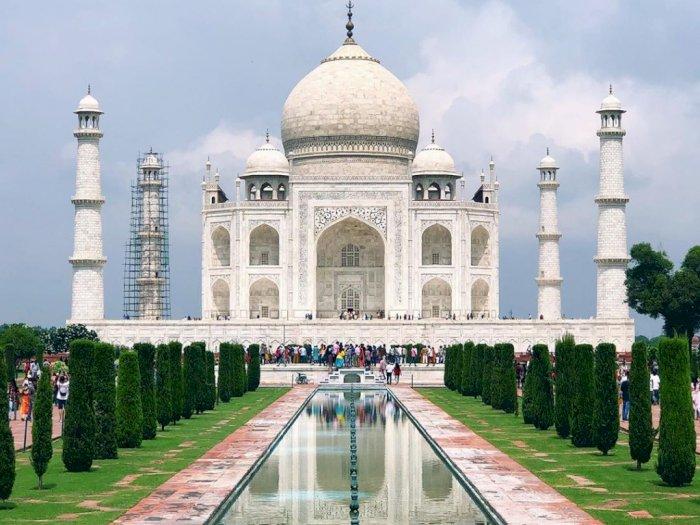 Akibat Protes, Banyak Turis Batal Kunjungi Taj Mahal