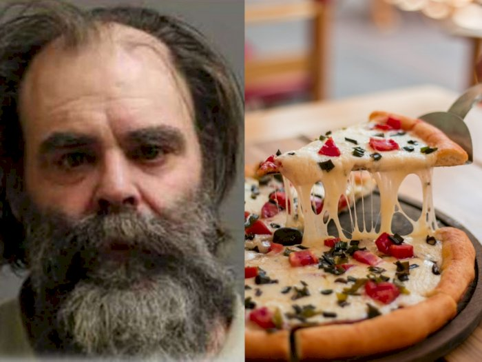 Seorang Pria Bobol Apartemen hanya karena Ingin Makan Pizza