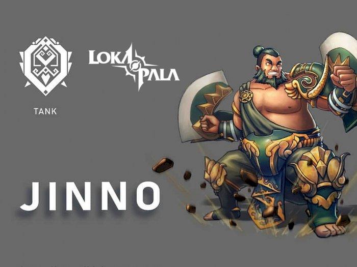 Game MOBA Lokapala Kehadiran Hero Tank Baru yang Bernama Jinno!