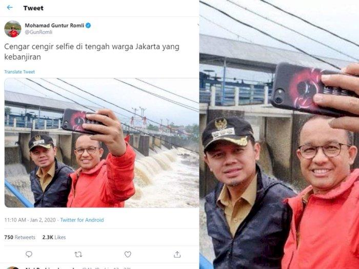 Fakta Soal Foto Selfie Anies & Bima Arya di Bendungan Katulampa