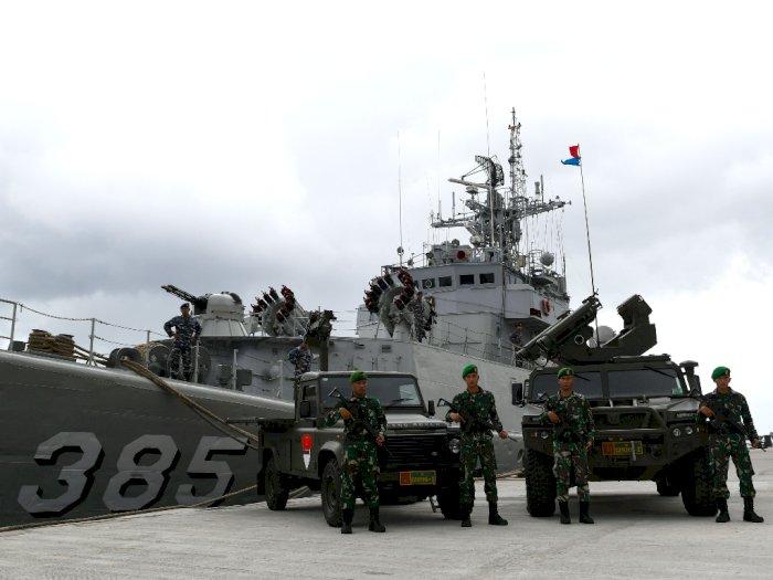 TNI 'Santuy' Hadapi Provokasi Tiongkok di Laut Natuna
