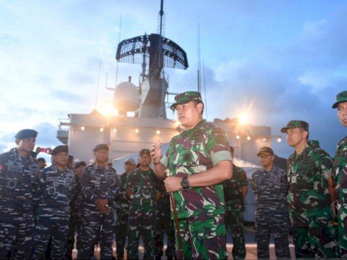 TNI AL Usir Kapal China Dengan Persuasif