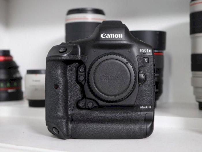 Canon Resmi Rilis EOS 1D X Mark III, Dibanderol Mulai dari Rp90 Jutaan