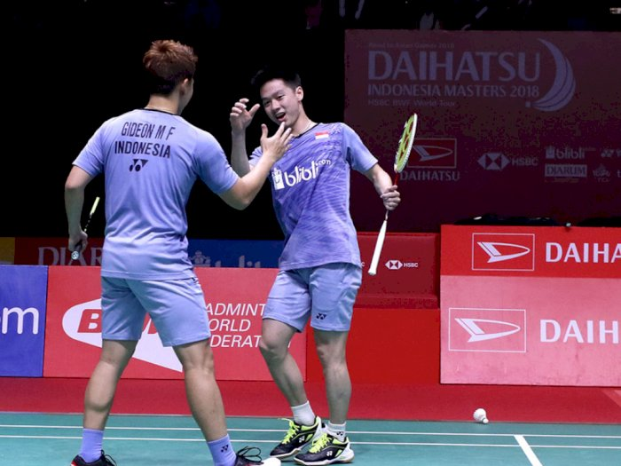 Malaysia Masters 2020: Langkah Mulus Kevin/Marcus