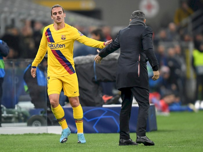 Griezmann Dukung Rencana Barcelona Bawa Pulang Neymar?