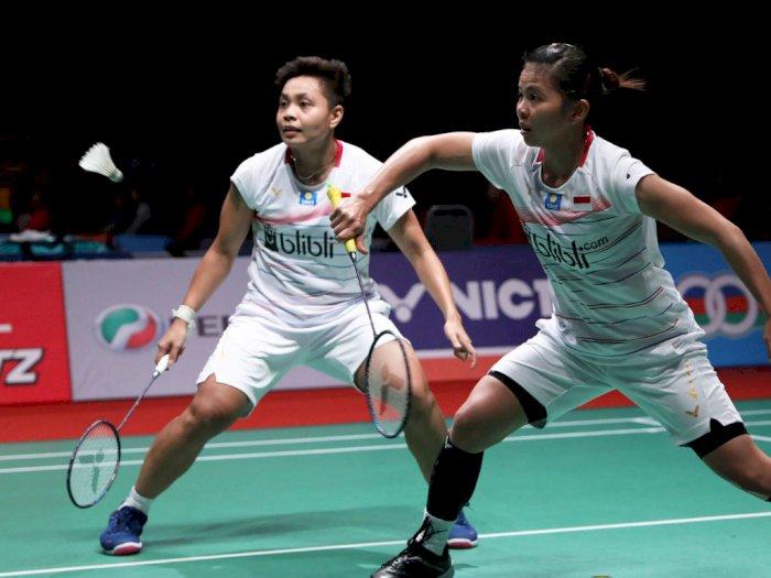 Greysia/Apriyani Genggam Tiket 8 Besar Malaysia Masters 2020