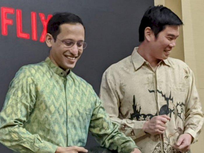 Nadiem Makarim Apresiasi Kerjasama Kemendikbud dan Netflix