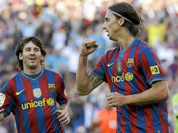 Messi Ternyata Pernah Ingin Tinggalkan Barcelona Karena Ibrahimovic