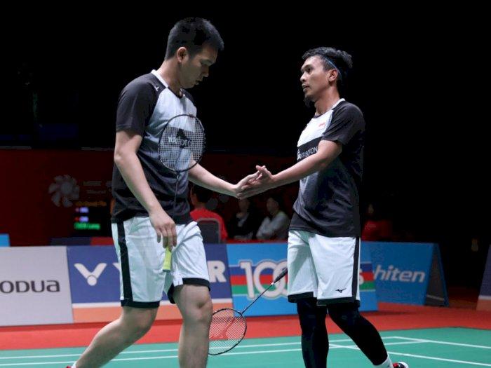 Belum Terbendung, Hendra/Ahsan Tembus Semifinal Malaysia Masters 2020