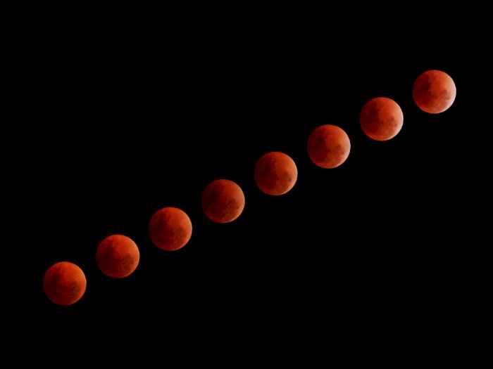 Catat! 11 Januari, Fenomena Gerhana Bulan Penumbra Akan Terjadi