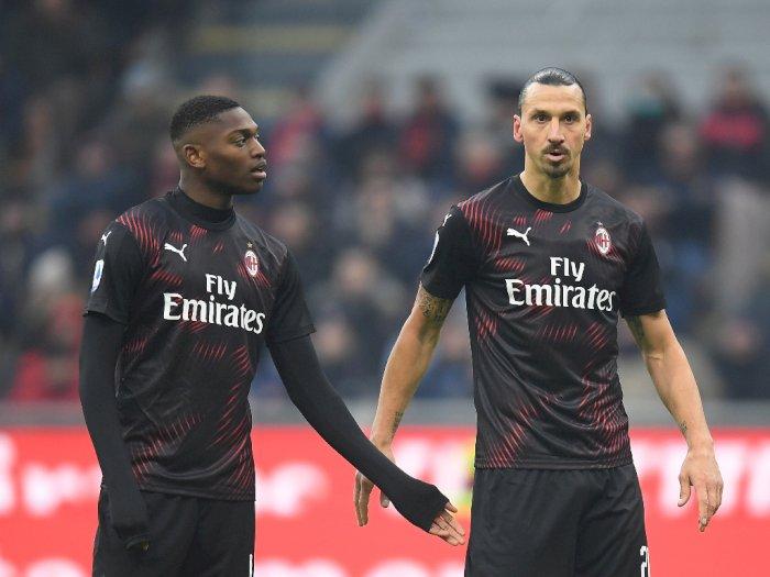 Rafael Leao Yakin Ibrahimovic Bisa Mengangkat AC Milan