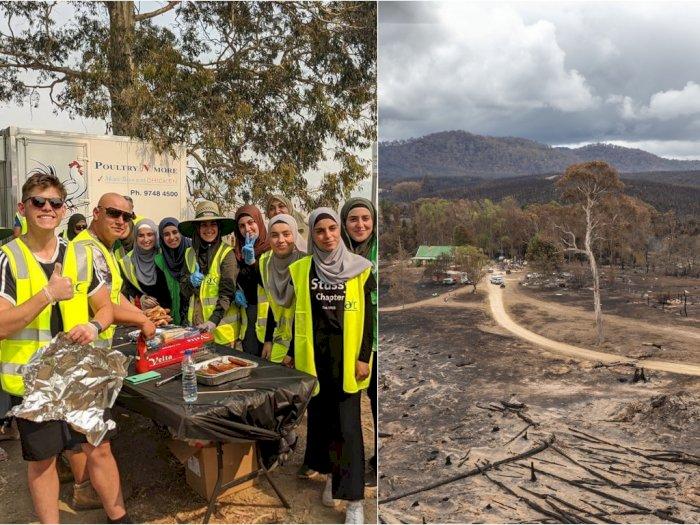 Salut! Komunitas Muslim Ini Galang Dana untuk Kebakaran Australia
