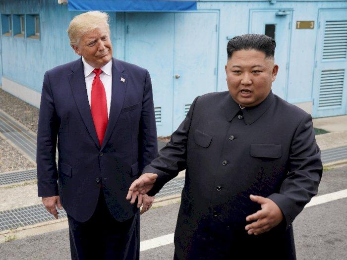 Trump Ucapkan Selamat Ulang Tahun ke Kim Jong Un