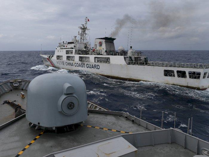 3 KRI Usir Kapal Asing yang Berada di Natuna Utara