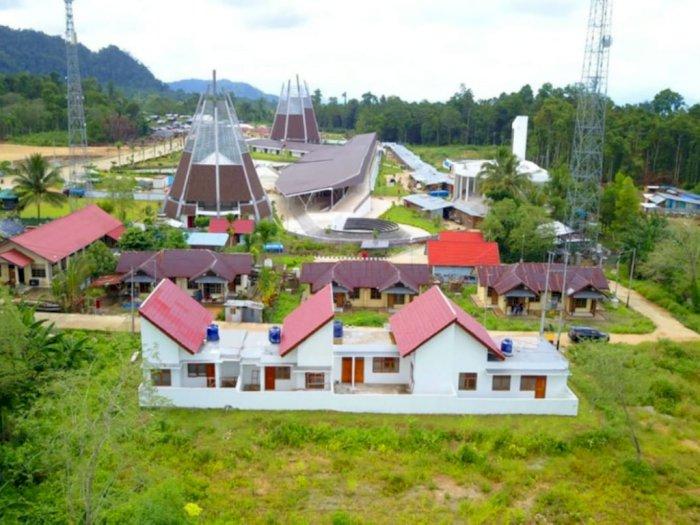 Terlihat Wah, Pembangunan Perbatasan Skouw Papua Rampung