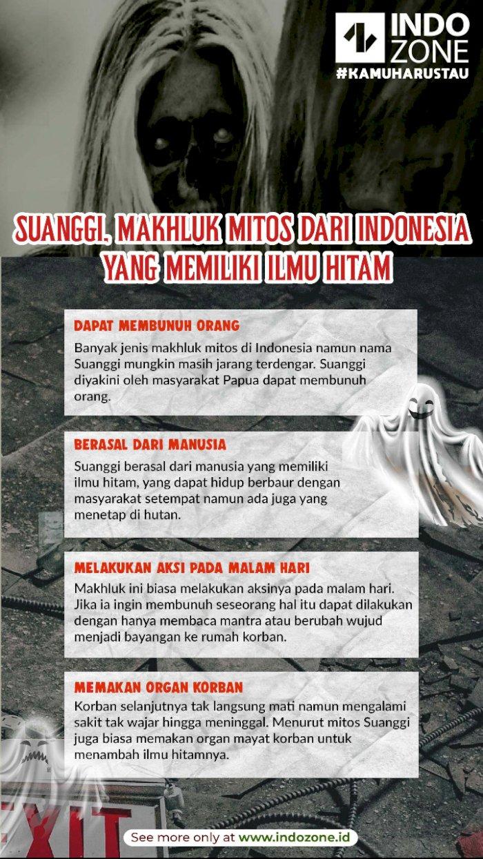 Suanggi, Makhluk Mitos dari Indonesia yang Memiliki Ilmu Hitam