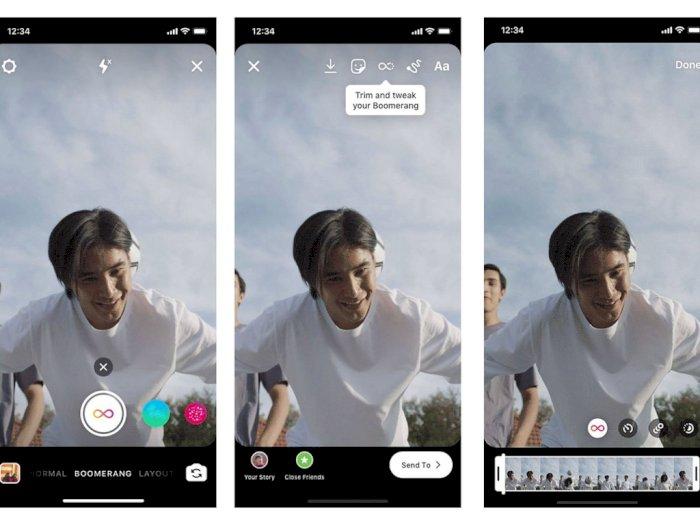 Instagram Hadirkan 3 Filter Baru di Boomerang, Mirip Seperti TikTok