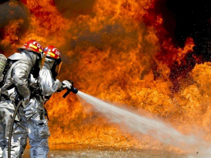 Akibat Kebakaran Besar, Ribuan Warga New Jersey Hidup Tanpa Listrik