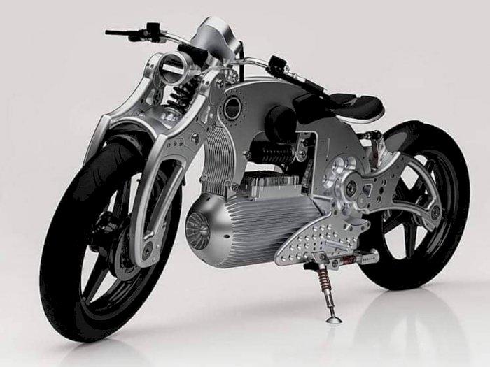 Motor Listrik Curtiss Berdesain Futuristik