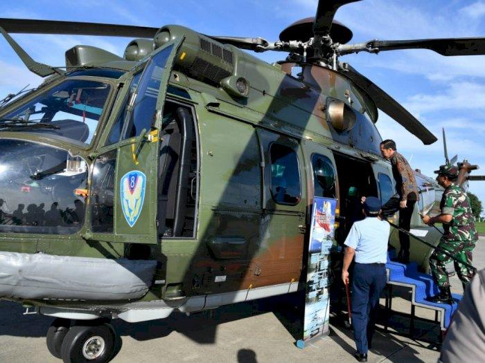 FOTO: Ini Helikopter Jokowi yang Baru Pengganti Sementara Super Puma