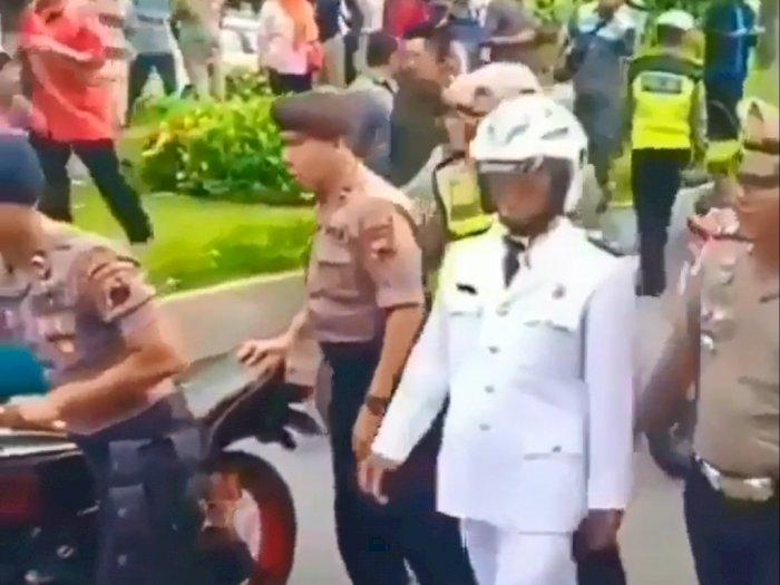 Belum Dilantik, Kades Ini Diamankan Polisi Karena Geber RX King