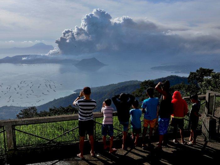Erupsi Gunung Taal, Turis: Pengalaman Sekali Seumur Hidup