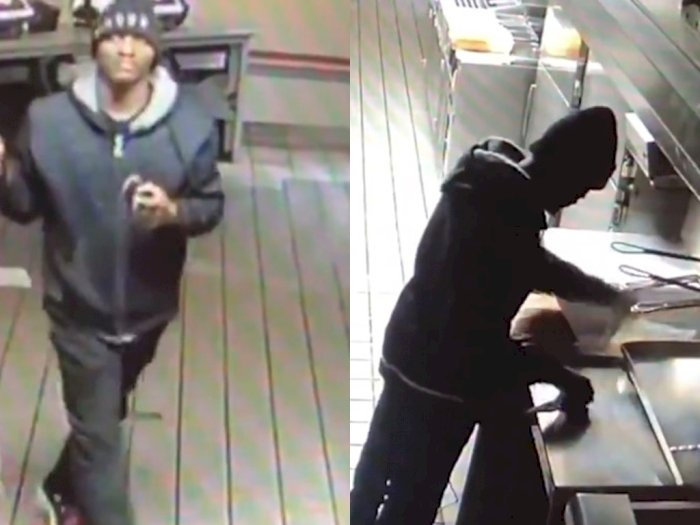 Pencuri Ini Membobol Sebuah Restoran untuk Numpang Masak dan Tidur