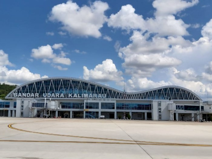 Dukung Pariwisata, Bandara Kalimarau Bisa Didarati Pesawat Badan Besar