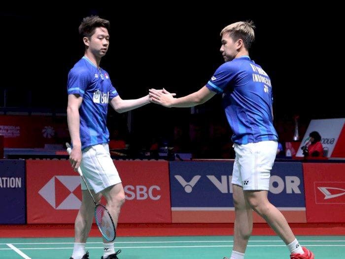 Enggan Bikin Kecewa, Kevin/Marcus Incar Juara Indonesia Masters