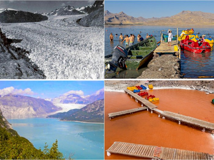 8 Potret Miris Transformasi Sejumlah Wilayah Akibat Perubahan Iklim