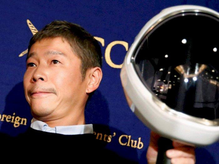 Miliarder Asal Jepang Ini Lagi Cari Pacar untuk Diajak ke Bulan