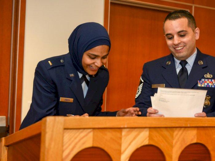 Inilah Saleeha Jabeen, Muslimah Pertama di Angkatan Udara AS