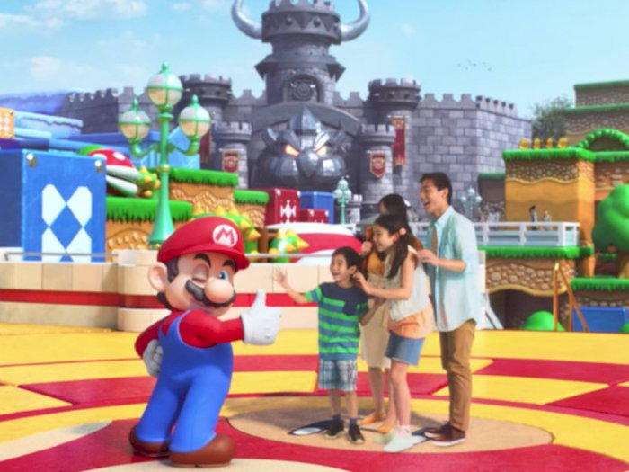 Sambut Pembukaan Super Nintendo World, Nintendo Rilis Video Keren!