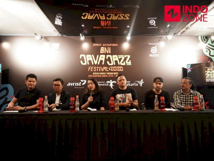 Java Jazz Festival 2020 Incar Anak Milenial
