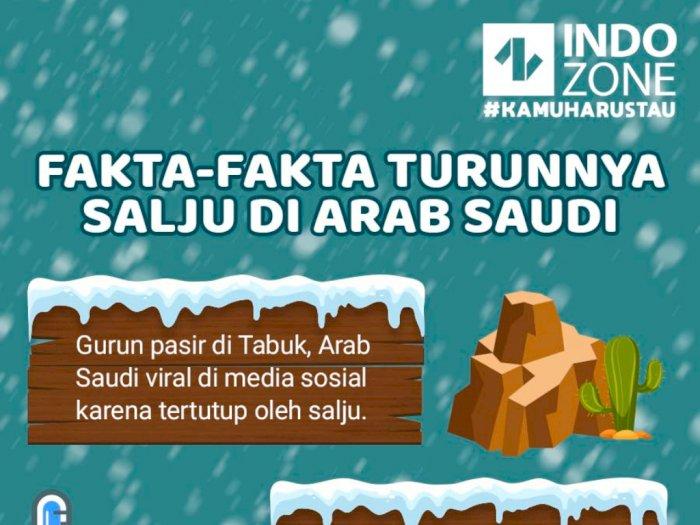 Fakta-Fakta Turunnya Salju di Arab Saudi