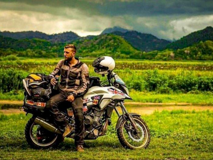 Bule Ini Cerita Kesan Naik Honda CB500X dari Inggris ke Indonesia
