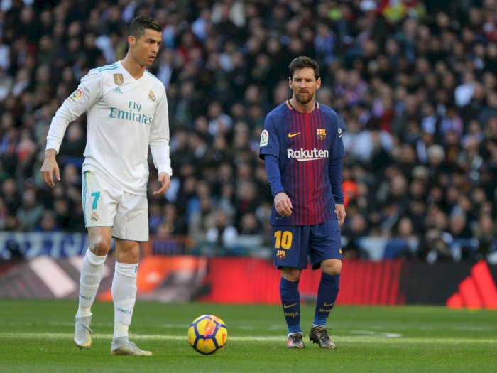 Messi: Orang-orang Akan Mengingat Duelku dengan CR7