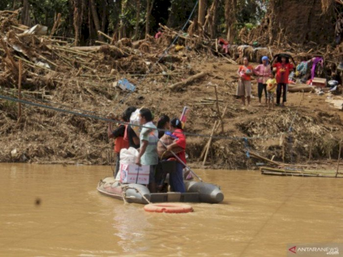 Soal Banjir Bandang di Lebak, BPBD Pastikan Tidak Ada Warga Kelaparan