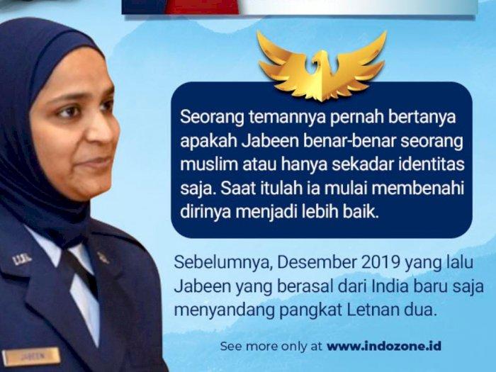Saleha Jabeen, Muslimah Pertama di Angkatan Udara AS