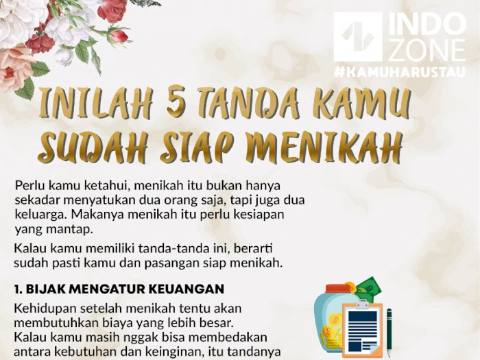 Inilah 5 Tanda Kamu Sudah Siap Menikah