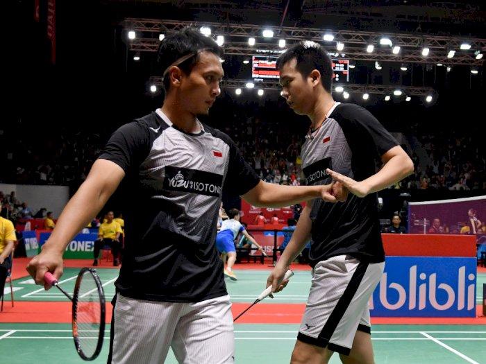 FOTO: 7 Wakil Indonesia Lolos ke Perempat Final Indonesia Masters 2020