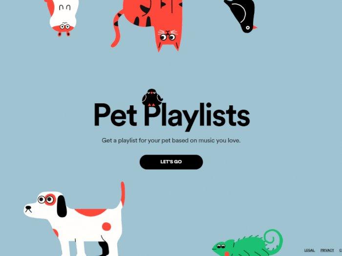 Spotify Hadirkan Playlist Lagu untuk Hewan Peliharaan Kamu!