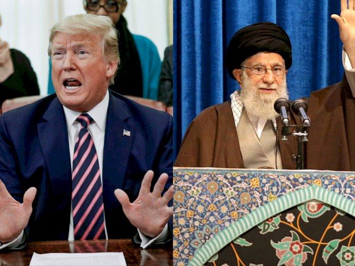 Donald Trump Perang Twitter dengan Ayatollah Khamenei