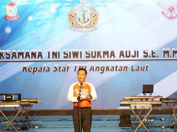 KSAL Laksamana TNI Luncurkan 'Garuda Di Lautku'