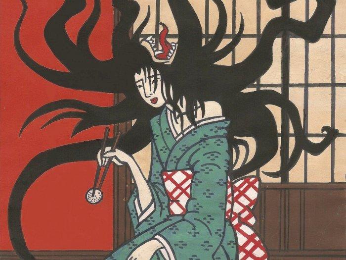 Legenda Siluman Wanita Bermulut  Dua dari Jepang