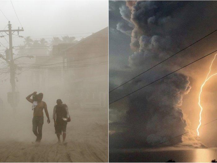 Ungkapan Pilu dari Korban Erupsi Gunung Taal Filipina
