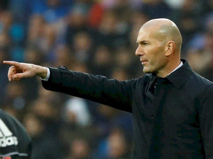 Zidane Angkat Bicara Soal Gol Sevilla yang Dianulir VAR