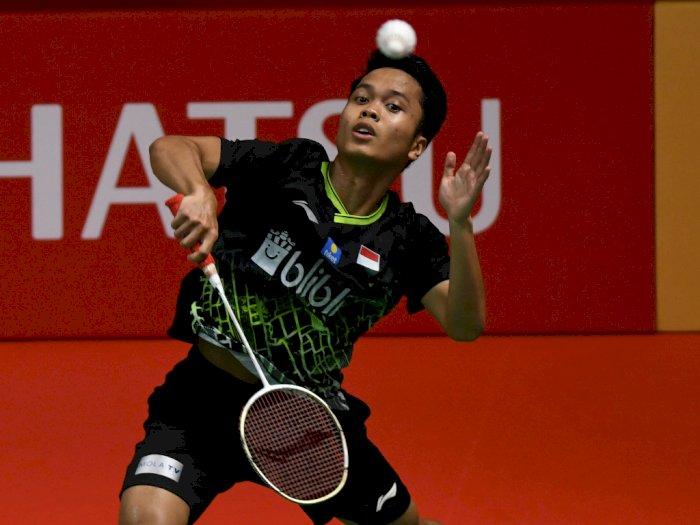 Anthony Ginting Sempurnakan Pesta Tuan Rumah di Indonesia Masters 2020